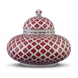 GEOMETRIC Jar with clover pattern ;24;28;;;