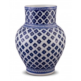 GEOMETRIC Jar with clover pattern ;31;20;;;
