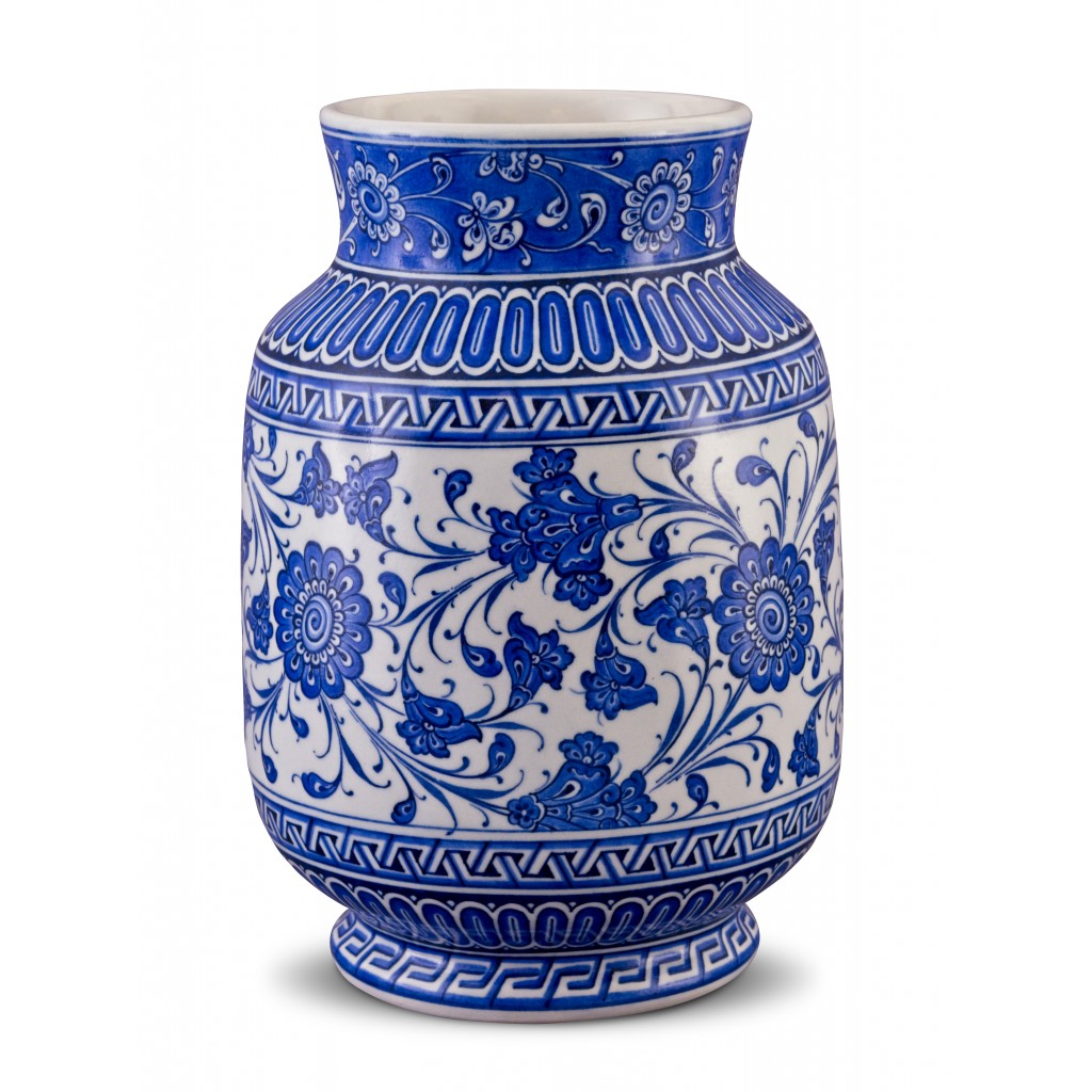 Jar with floral pattern ;30;20;;; - FLORAL