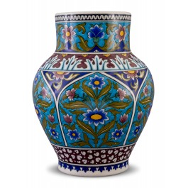 FLORAL Jar with floral pattern ;31;20;;;