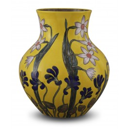 CONTEMPORARY Jar with floral pattern ;33;26;;;