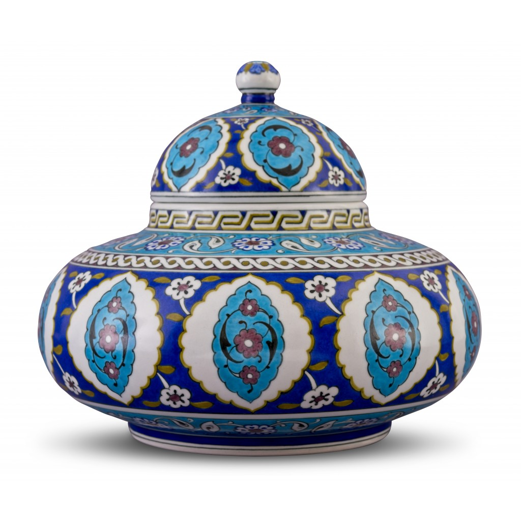 Jar with Rumi pattern ;24;28;;; - FLORAL