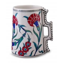 FLORAL Jug with carnation pattern ;16;14;;;