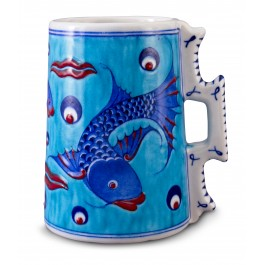 ARTIST Adnan Ergüler Jug with fish ;16;14;;;