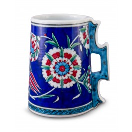 FLORAL Jug with floral pattern ;16;14;;;