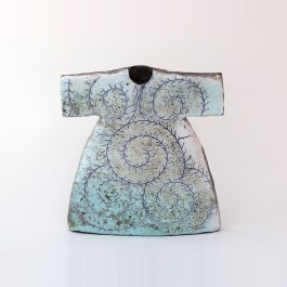 RAKU Kaftan with scroll pattern in contemporary style ;29;26