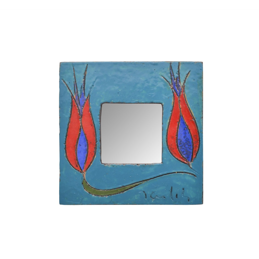 Mirror with tulips ;; - CONTEMPORARY