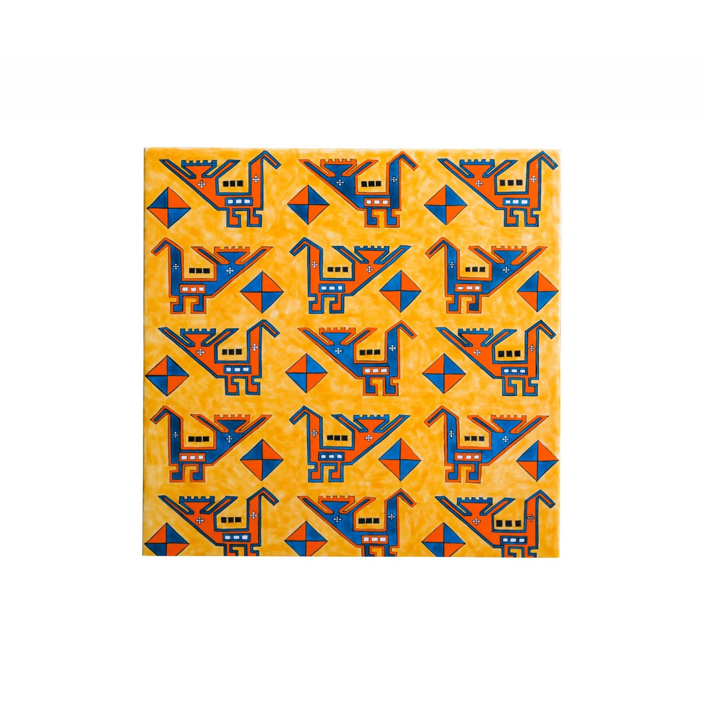 Panel with abstract geometric pattern ;;40 - TILE & PANELS