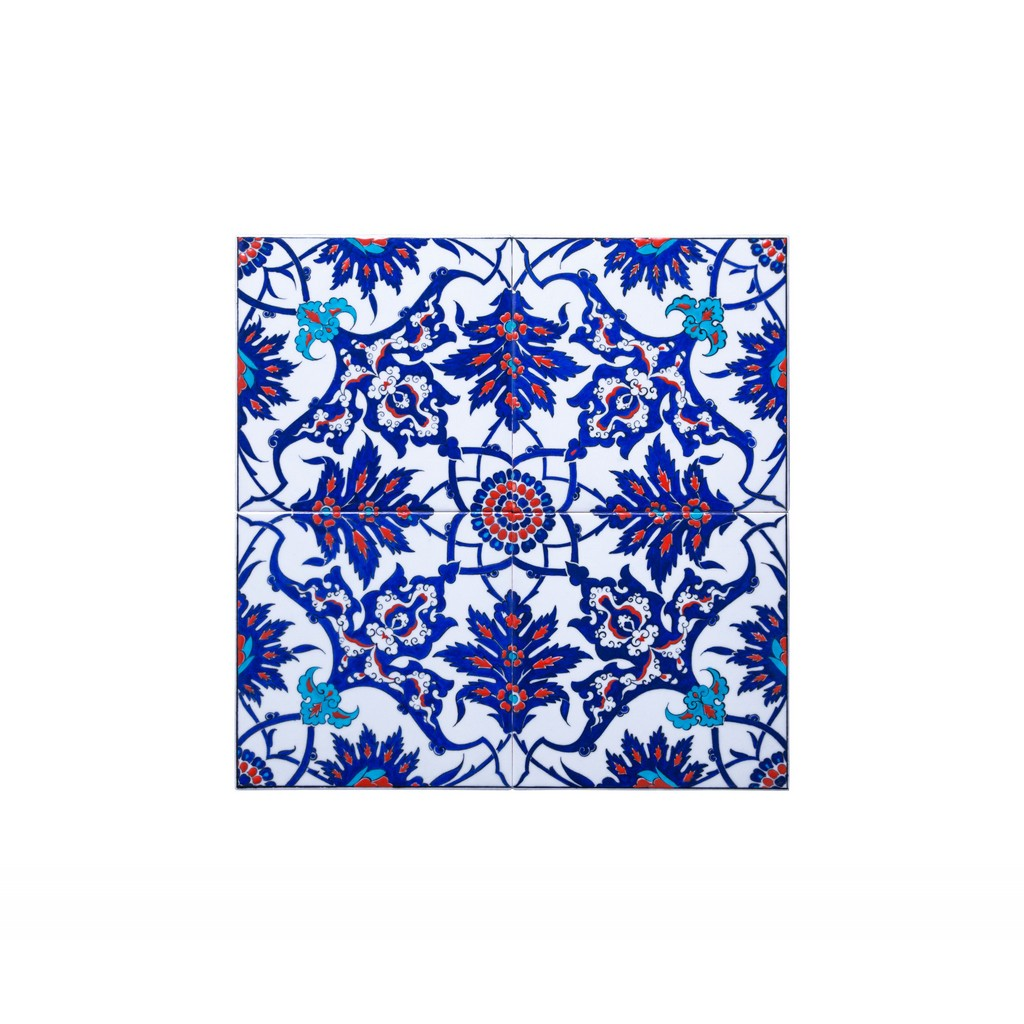 Panel with central hatai pattern ;50;50 - TILE & PANELS