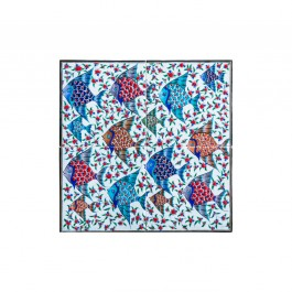 TILE & PANELS Panel with fishes ;40;40