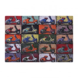 TILE & PANELS Panel with motorbikes ;42;62