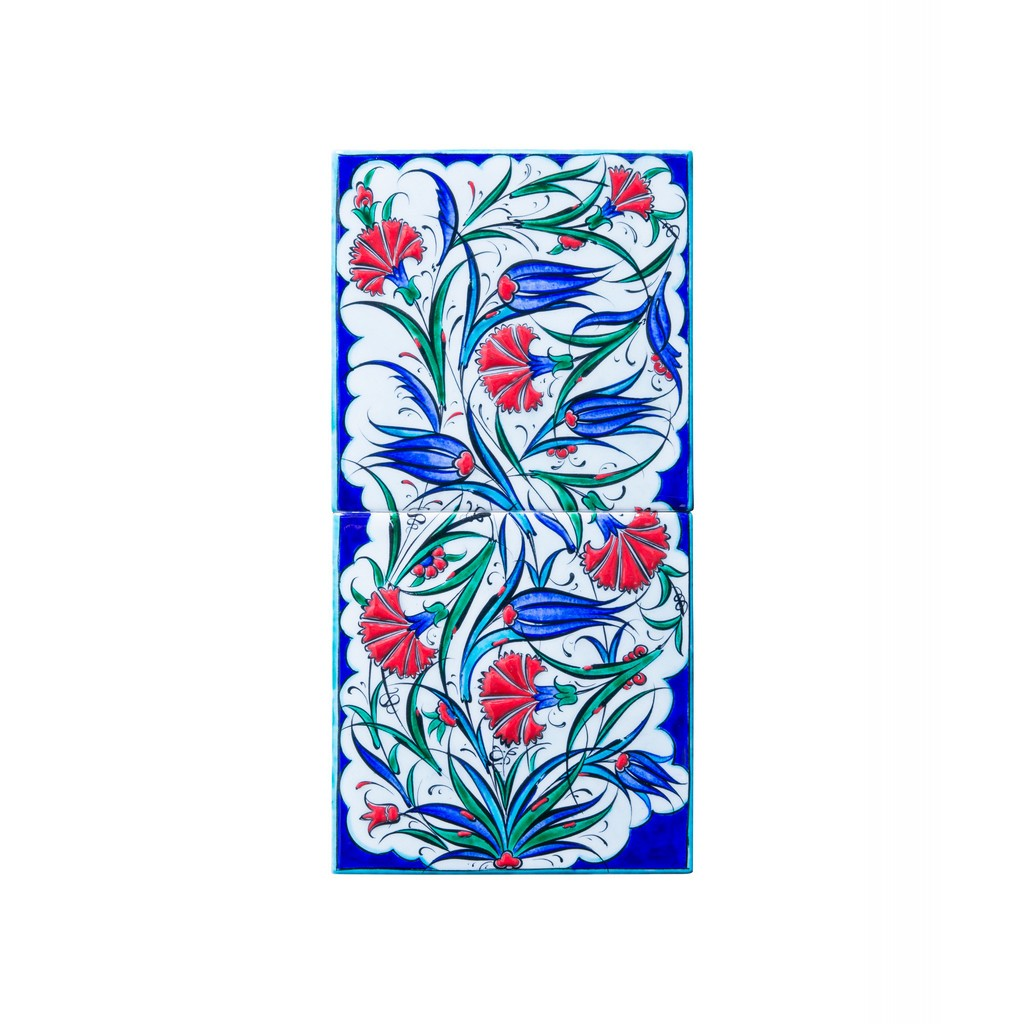 Panel with tulip and carnation flowers ;20;40 - TILE & PANELS