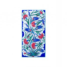 TILE & PANELS Panel with tulip and carnation flowers ;20;40