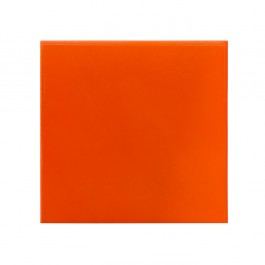 FLORAL Plain tile - Red ;;20/25