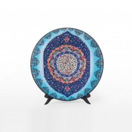 PLATE Plate with abstract pattern ;;56