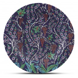 PLATE Plate with floral pattern ;;40;;;