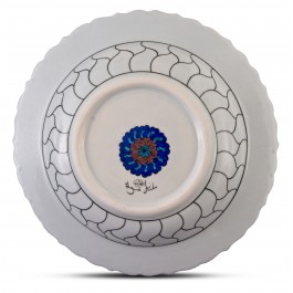 Plate with floral pattern ;;41;;; - FLORAL  $i