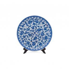 FLORAL Plate with hatai pattern ;;