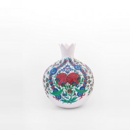 DECORATIVE ITEM & OBJECTS Pomegranate figure with saz leaves and floral pattern ;45;33;;;