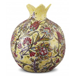 FLORAL Pomegranate with floral pattern ;35;30;;;