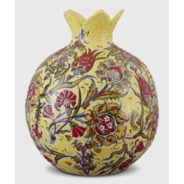 DECORATIVE ITEM & OBJECTS Pomegranate with floral pattern ;35;30;;;
