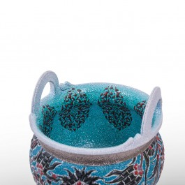 Pot with hatai and rumi patterns ;35;30 - DECORATIVE ITEM & OBJECTS  $i
