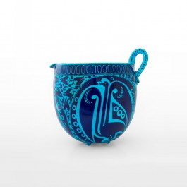 ARTIST Sıtkı II (Nida Olçar) Pot with hatai pattern and bird figure ;25;30