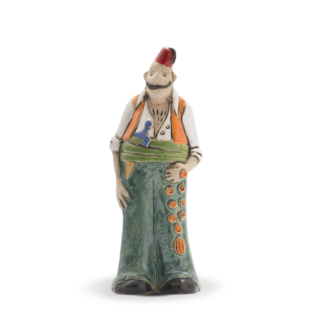 Thin tough guy figurine Figurine;21;7;;; -