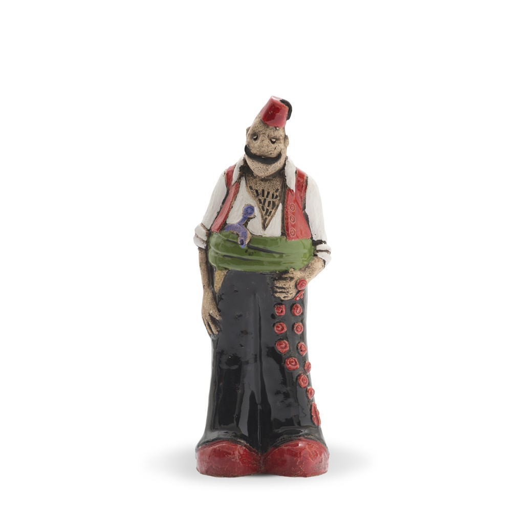 Thin tough guy figurine Figurine;21;7;;; - FIGURE & FIGURINE