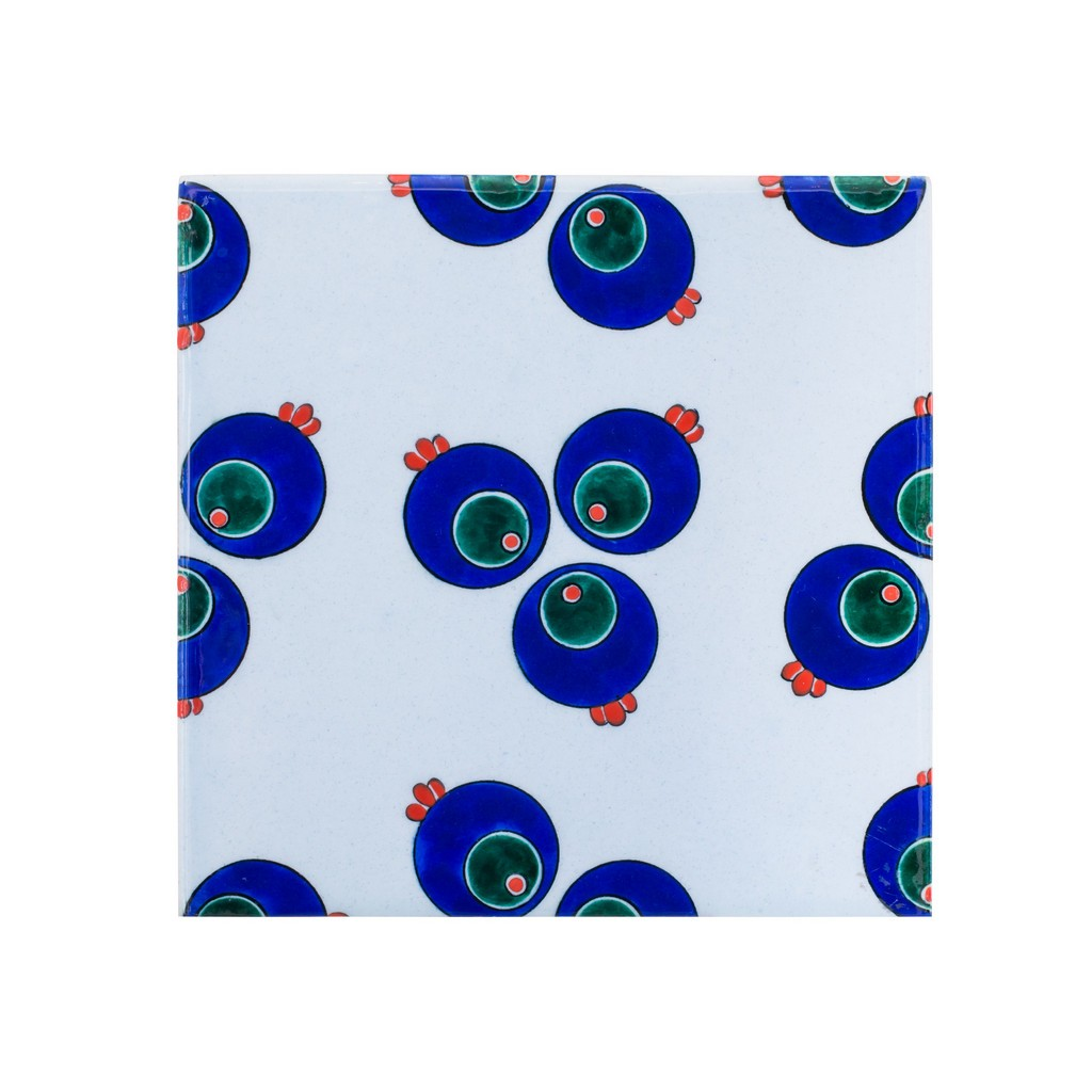 Tile with chintemani ;23;5 - GEOMETRIC