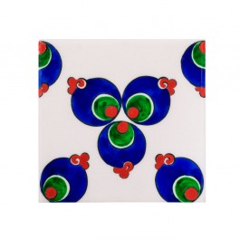 GEOMETRIC Tile with chintemani ;23;5