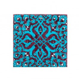 TILE & PANELS Tile with damasque pattern ;;20/25