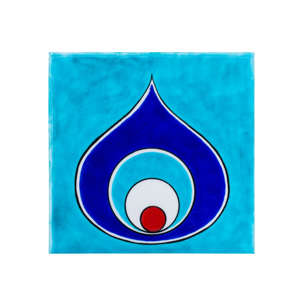 Tile with evil eye ;;20;;; - TILE & PANELS