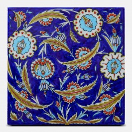 FLORAL Tile with floral pattern ;25;25;;;