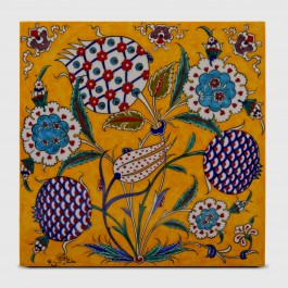 FLORAL Tile with floral pattern ;30;30;;;