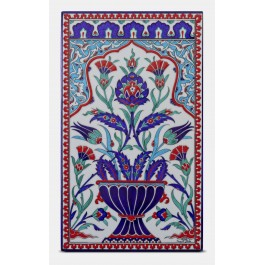 FLORAL Tile with floral pattern ;47;28;;;
