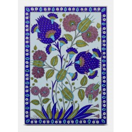 FLORAL Tile with floral pattern ;47;33;;;