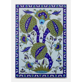 TILE & PANELS Tile with floral pattern ;47;33;;;