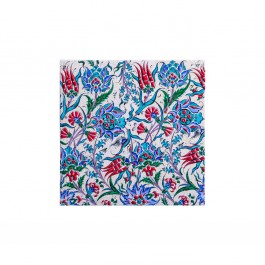 ARTIST Saim Kolhan Tile with flowers and leaves ;;40
