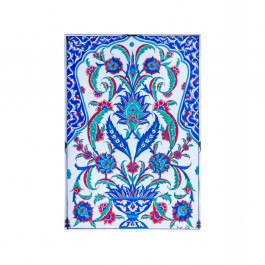 FLORAL Tile with hatai and rumi patterns ;48;33