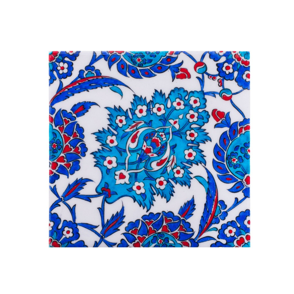 Tile with hatai pattern ;;20/25 - FLORAL