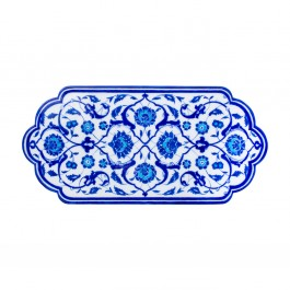 FLORAL Tile with leaves and floral pattern ;23;49