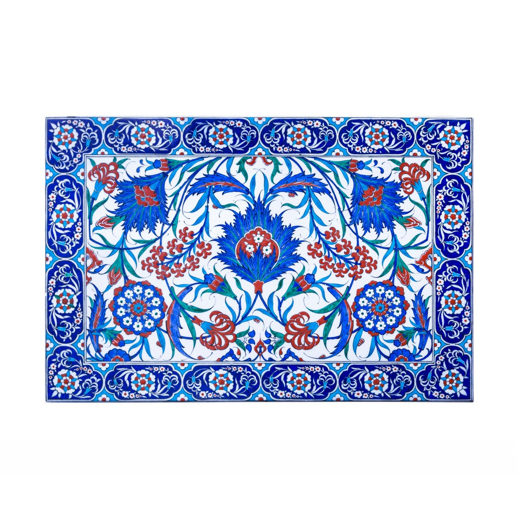 Tile with symetric hatai pattern ;42;62 - TILE & PANELS