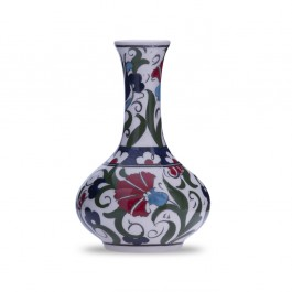 FLORAL Vase with carnation design ;12;;;;