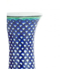 Vase with fish scale pattern ;20;14;;; - DECORATIVE ITEM & OBJECTS  $i