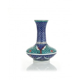 GEOMETRIC Vase with fish scale pattern ;20;14;;;