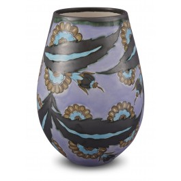 CONTEMPORARY Vase with floral pattern ;26;15;;;