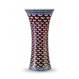 GEOMETRIC Vase with geometrical pattern ;25;12;;;