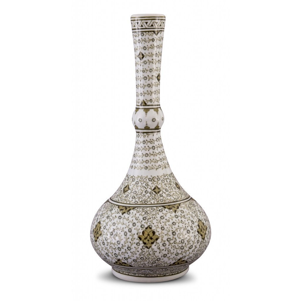 Vase with Golden Horn pattern ;47;22;;; - VASE