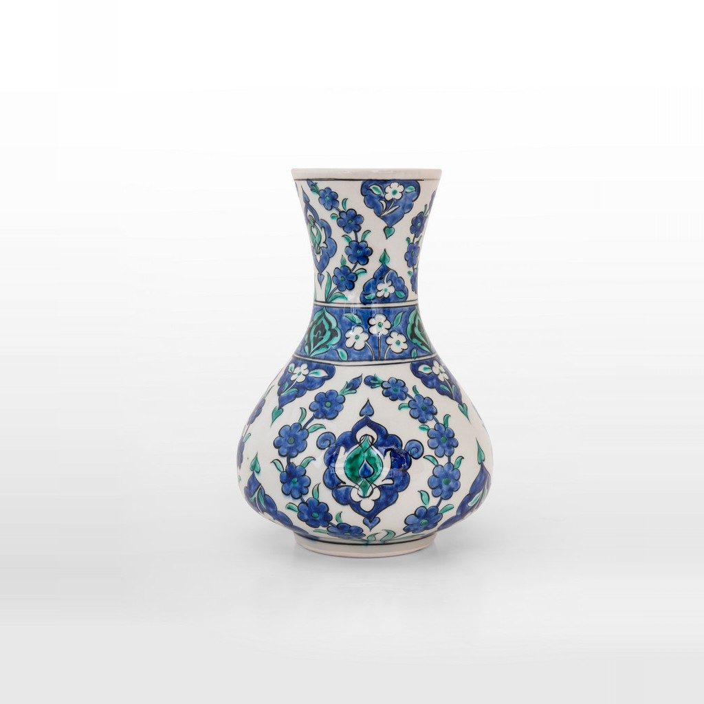 Vase with hatai pattern ;25;16 - FLORAL